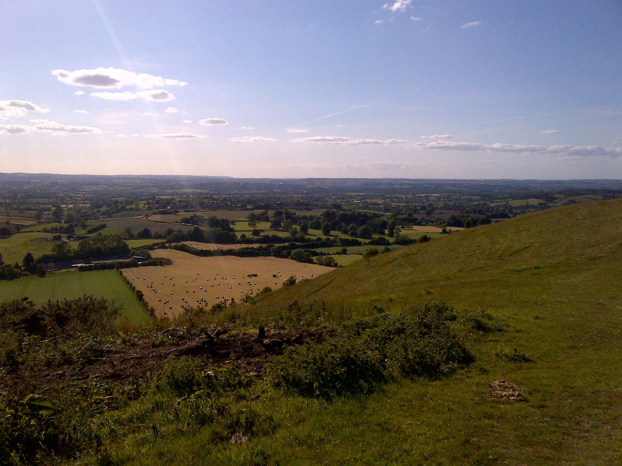 View from Cley Hill, Purgle Linham